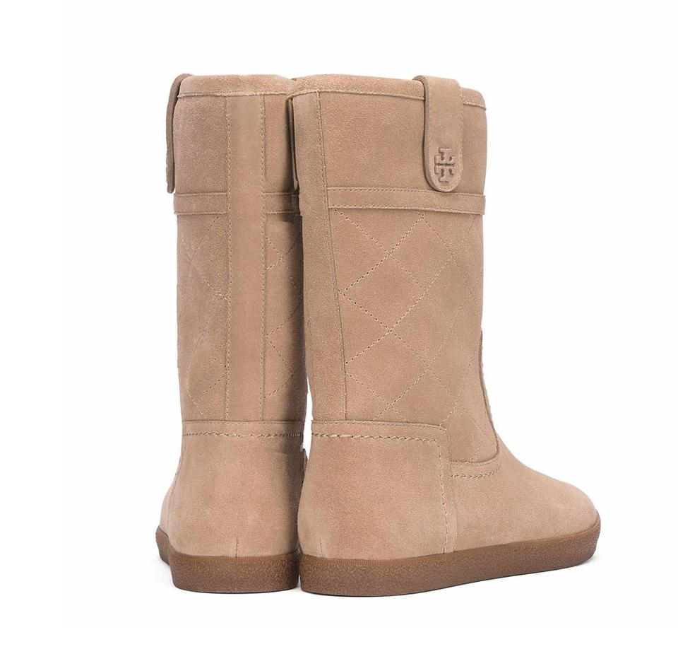 e8b3a1acbcec1 Tory Burch Light Camel Natural Light Camel Boots Image 6. 1234567. 1 ∕ 7