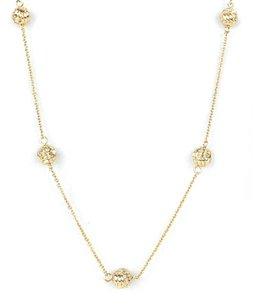 Kate Spade Kate Spade New York 'Knotted Rope' Scatter Necklace
