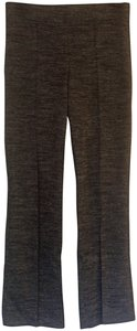 Ann Taylor LOFT Boot Cut Pants Black and Grey Marble