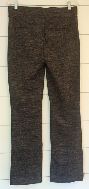 Ann Taylor LOFT Boot Cut Pants Black and Grey Marble Image 2