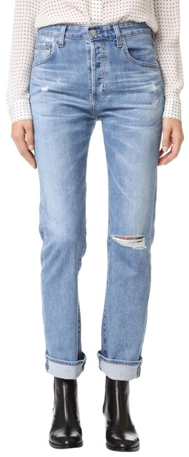Item - 20 Years Carved Stone Distressed The Sloan Tomboy Boyfriend Cut Jeans Size 25 (2, XS)