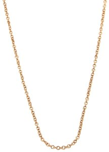 Tiffany & Co. Classic 18k Rose Gold Link Long Chain
