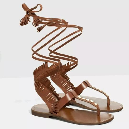 Zara brown Sandals Image 1