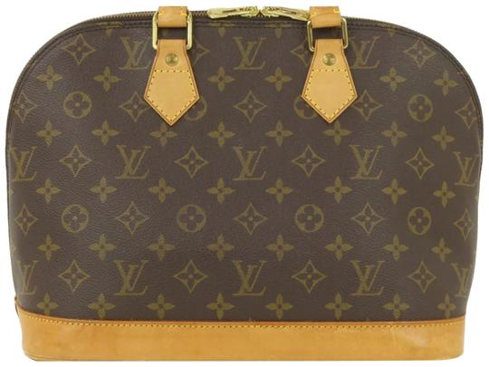 Preload https://img-static.tradesy.com/item/23198854/louis-vuitton-alma-tote-handbag-brown-leather-satchel-0-2-540-540.jpg