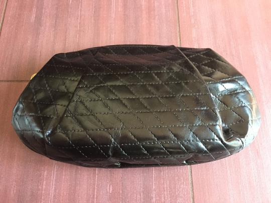 Furla Quilted Leather Cosmetic Vintage black Clutch Image 1