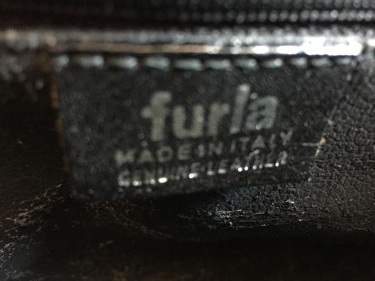 Furla Quilted Leather Cosmetic Vintage black Clutch Image 6