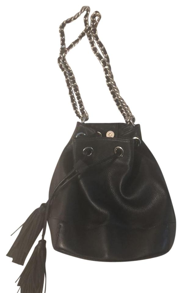 b41e1eba33b Rebecca Minkoff Bucket Black Hobo Bag - Tradesy