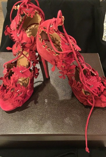 Alaia Red Sandals Image 1
