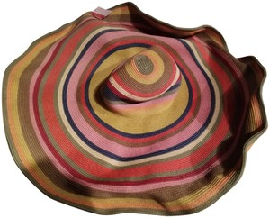 Scala NWT Scala made in Italy enormous straw hat