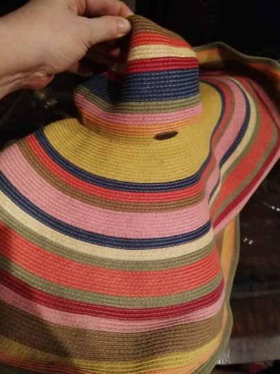 Scala NWT Scala made in Italy enormous straw hat Image 4