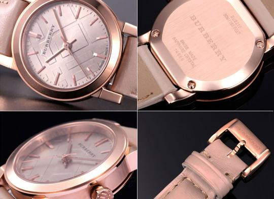 Burberry 100% Brand New in the Box Burberry Women Rose Gold watch BU9210 Image 2