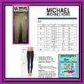 MICHAEL Michael Kors Fit 98% Cotton Traditional Style Bronze Hardware Plate Skinny Jeans-Dark Rinse Image 11