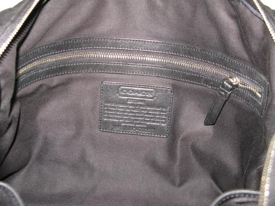 Coach Leather Briefcase Crossbody Messenger Laptop Bag Image 3
