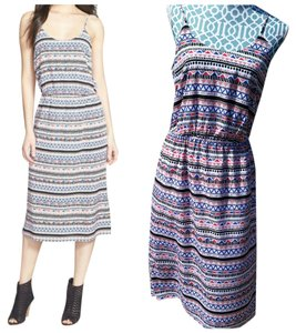 multi color Maxi Dress by Hinge Midi Boho