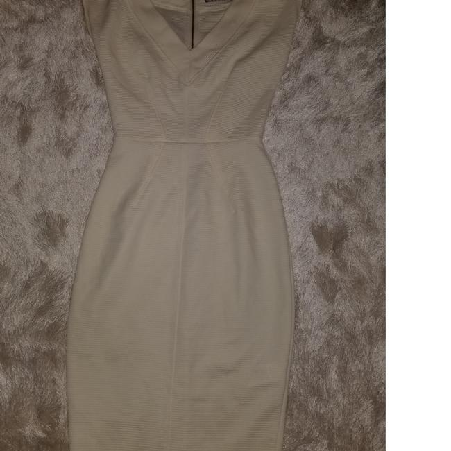 Closet Bodycon Ribbed V-neck Dress Image 3