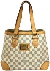 Louis Vuitton Lv Azur Hampstead Pm Canvas Shoulder Bag