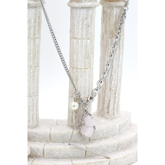 Ocean Fashion Fashion natural Pink crystal necklace Image 5