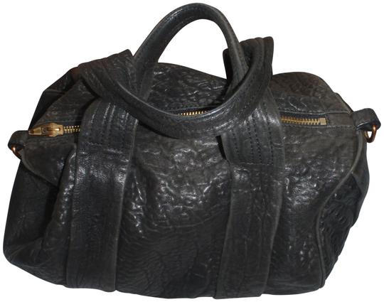 Preload https://img-static.tradesy.com/item/23199662/alexander-wang-blackgold-tone-leather-satchel-0-1-540-540.jpg