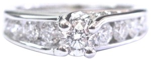 Leo Schachter Company Leo Schachter Company Diamond White Gold Engagement Ring 1.28Ct 14KT