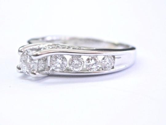 Leo Schachter Company Leo Schachter Company Diamond White Gold Engagement Ring 1.28Ct 14KT Image 1