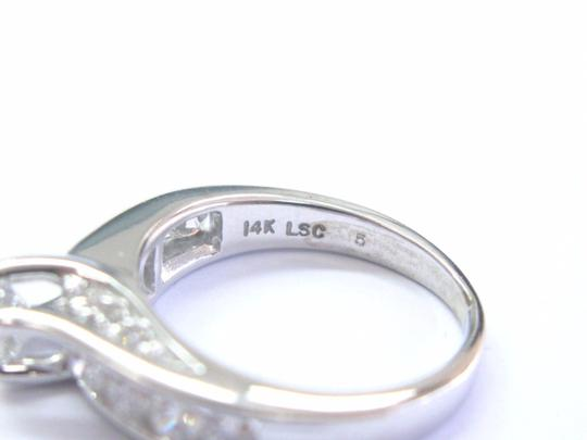 Leo Schachter Company Leo Schachter Company Diamond White Gold Engagement Ring 1.28Ct 14KT Image 3