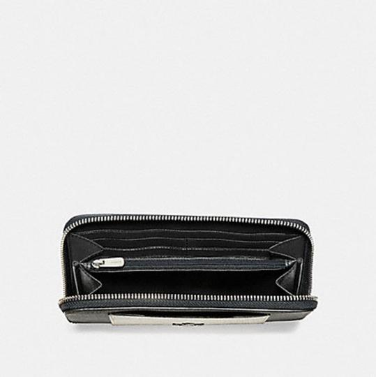 Coach COACH ACCORDION ZIP WALLET WITH METALLIC COLORBLOCK f22712 Image 1
