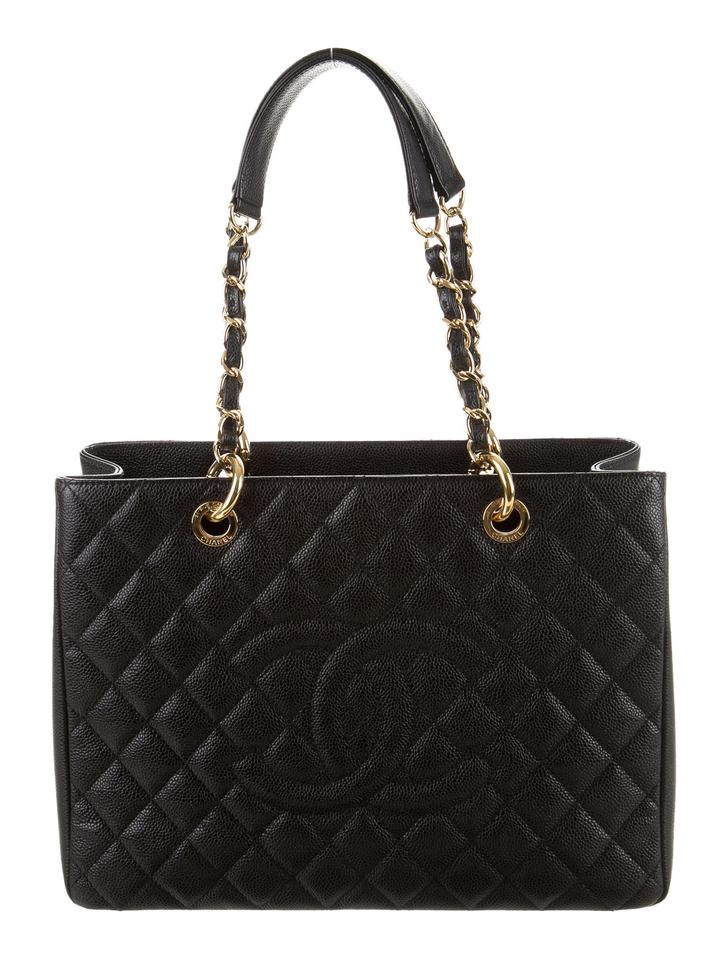 Chanel Grand Shopping Gst Quilted Ghw Classic Timeless