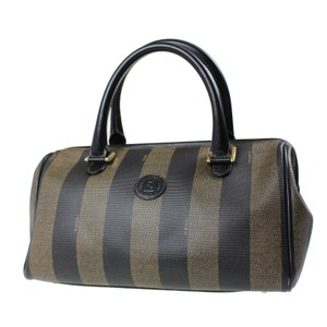 Fendi Made In Italy Tote in Brown Black