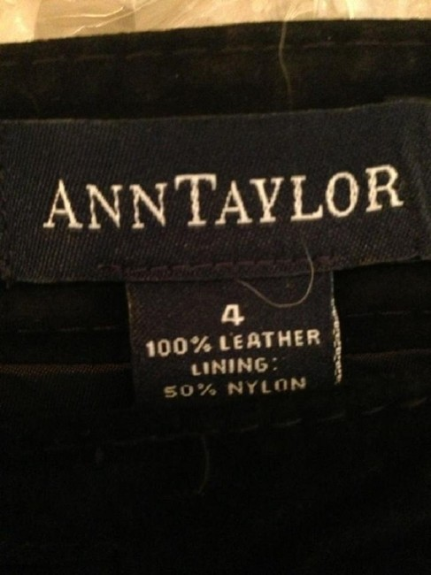 Ann Taylor Spring Leather Summer Leather Leather Spring Beach Summer Beach Capri/Cropped Pants black Image 2