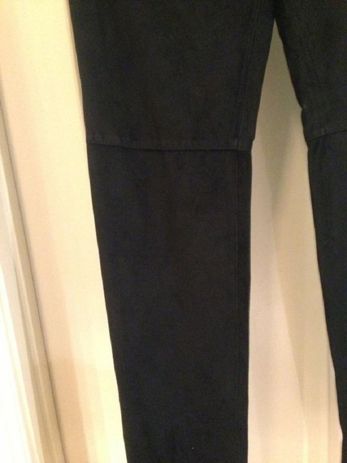 Ann Taylor Spring Leather Summer Leather Leather Spring Beach Summer Beach Capri/Cropped Pants black Image 4