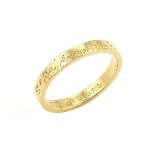 Preload https://img-static.tradesy.com/item/23200199/tiffany-and-co-17468-notes-18k-yellow-gold-3mm-wide-wedding-band-ring-0-0-540-540.jpg