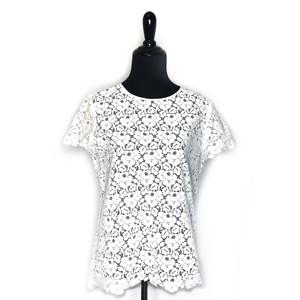 80073eac9c1ab White Talbots Tops - Up to 70% off a Tradesy