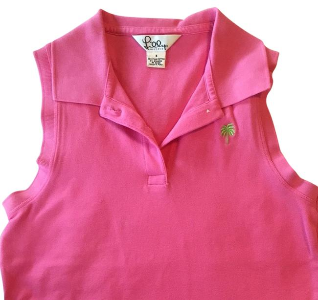 Preload https://item3.tradesy.com/images/lilly-pulitzer-pink-button-down-top-size-4-s-2320022-0-0.jpg?width=400&height=650