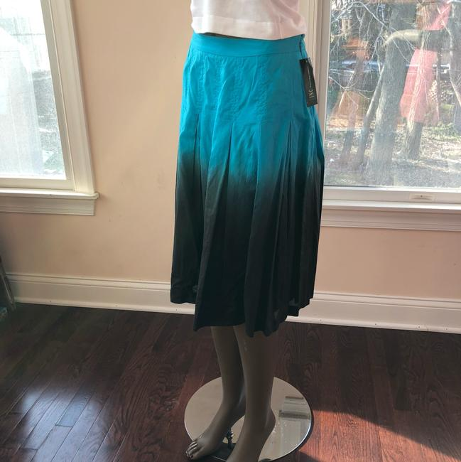 INC International Concepts Skirt turquoise and brown Image 2