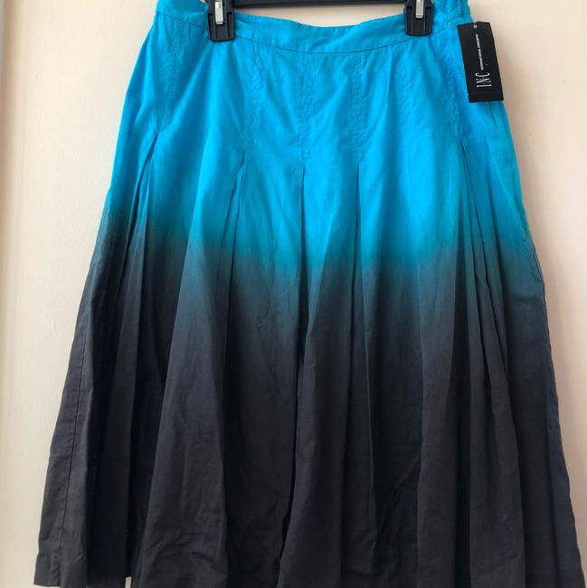 INC International Concepts Skirt turquoise and brown Image 4