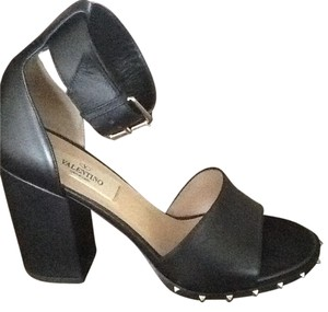 Valentino Garavani Star Studded Sandal Black Sandals