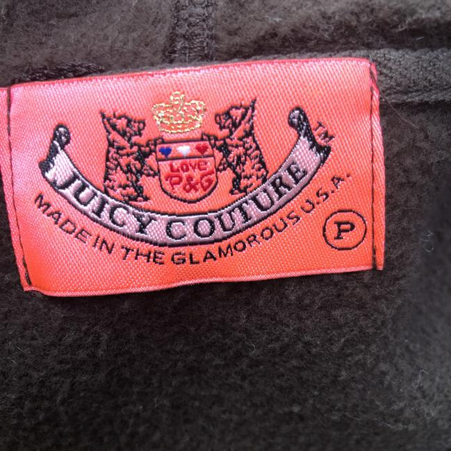 Juicy Couture Chocolate Brown Ruffle Activewear Outerwear Size 0 (XS) Juicy Couture Chocolate Brown Ruffle Activewear Outerwear Size 0 (XS) Image 10