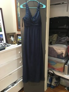 BHLDN Navy Polyester Angie Feminine Bridesmaid/Mob Dress Size 2 (XS)