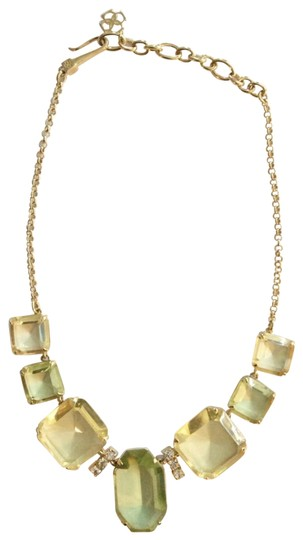 Preload https://img-static.tradesy.com/item/23200598/ann-taylor-gold-yellow-green-nwot-necklace-0-1-540-540.jpg