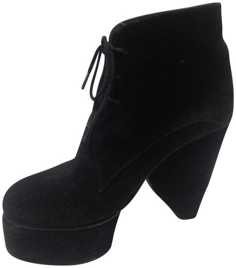 Surface to Air Suede Cool Eclectic Black Boots Image 1