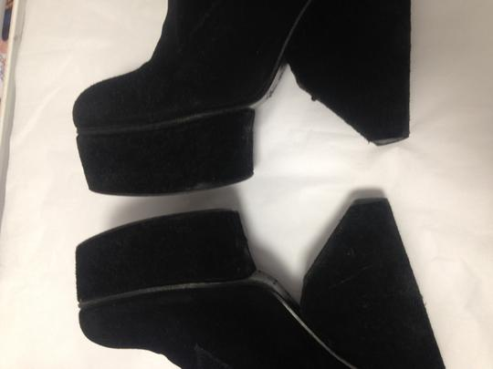 Surface to Air Suede Cool Eclectic Black Boots Image 3