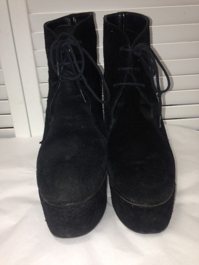 Surface to Air Suede Cool Eclectic Black Boots Image 6