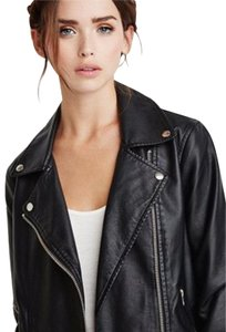 Forever 21 Faux Leather Moto Motorcycle Jacket