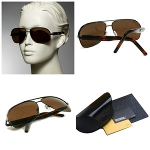 Fendi New with Case and Cards Men's Aviator Unisex Sunglasses