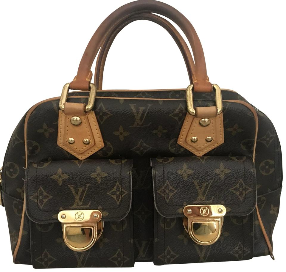 479be868dd3a Louis Vuitton Manhattan Pm Leather Satchel - Tradesy