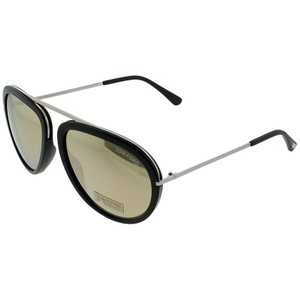 Tom Ford FT0452-F-01C Cat Eye Men's Black Frame Grey Lens 57mm Genuine Sung
