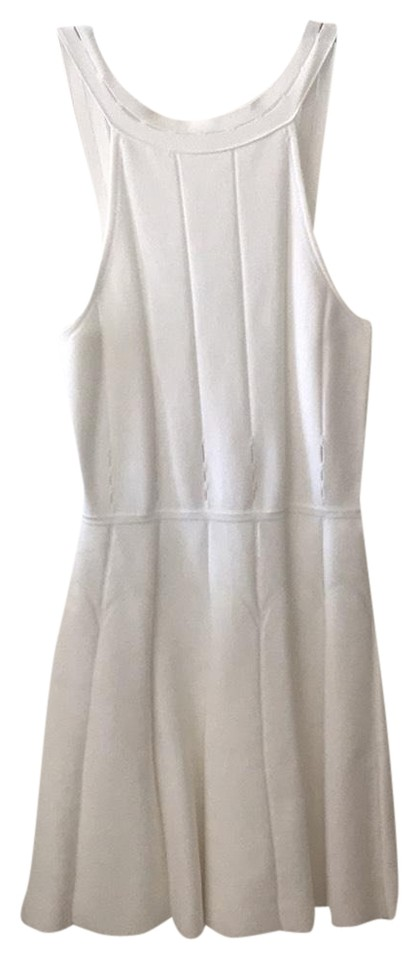 caf06ffe0dc7 Cushnie et Ochs White Mini Flare Short Cocktail Dress Size 6 (S) - Tradesy