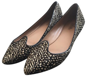 Belle by Sigerson Morrison black and white Flats