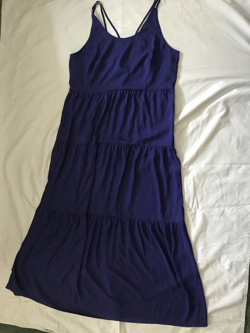 cobalt blue Maxi Dress by Ann Taylor LOFT Summer Image 1