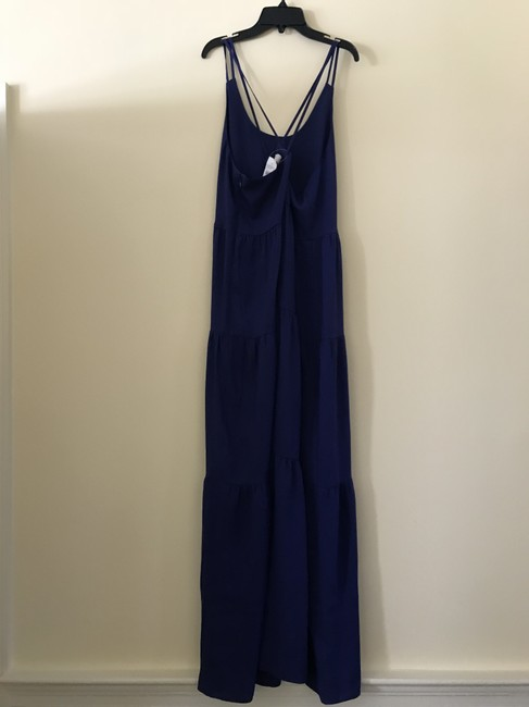 cobalt blue Maxi Dress by Ann Taylor LOFT Summer Image 5